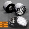 Grinder Magno Mix Push Up 40mm (Nero)